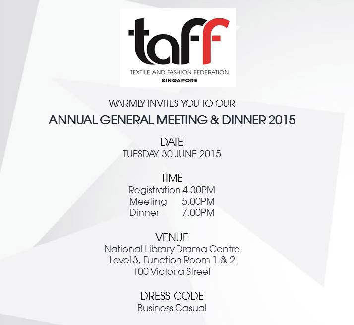 AGM - Meeting and Dinner Invitation
