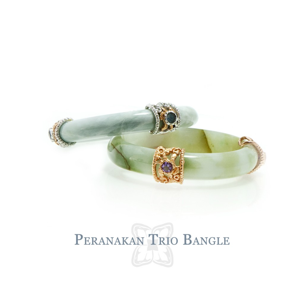 Peranakan Trio Bangle